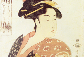 The Japanese art Ukiyoe